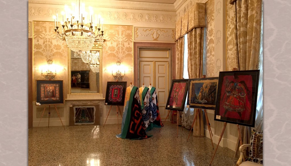 RUSSIAN BALLETS OF DIAGHILEV – THE VISION OF ANNA NEZHNAYA. THE PERSONAL EXHIBITION IN LA FENICE THEATRE.
